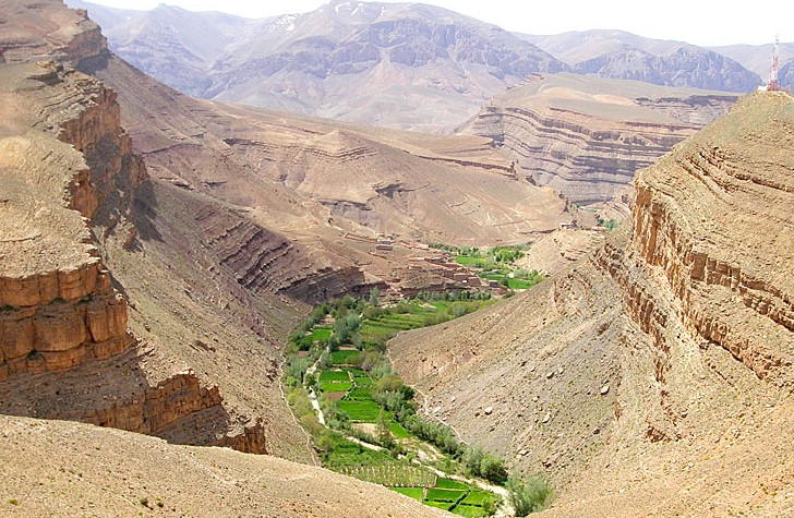 dades valley in morocco