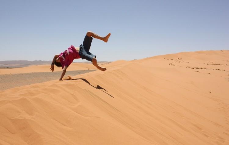 morocco desert in merzouga
