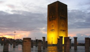 rabathassan tower morocco