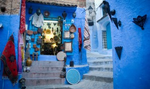 tour in the blue city in morocco , day tour in chefchaouen
