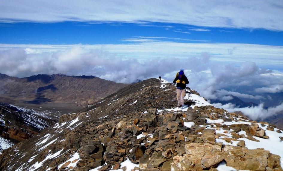 trek in Mgoun morocco