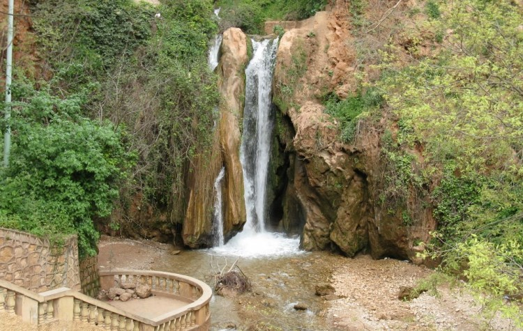 waterfall in sefrou morocco