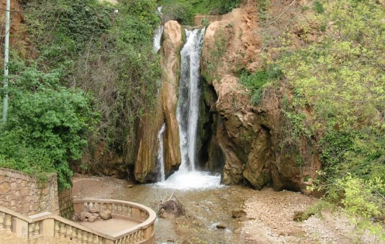 waterfall in sefrou morocco