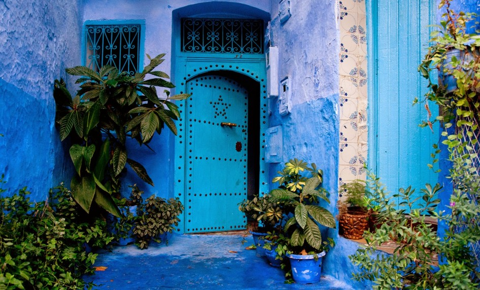 the blue city in morocco chefchaouen